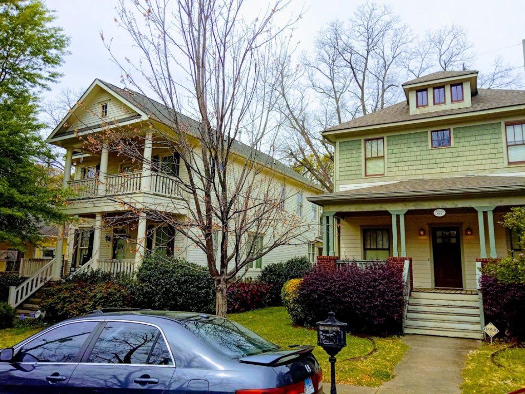 Virginia Park Craftsman Houses